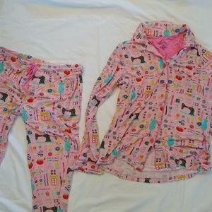 Nick and Nora pajamas